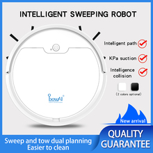 New 1600Pa Multifunctional Robot Vacuum Cleaner 3-In-1 Auto Rechargeable Smart Sweeping Robot Dry Wet Sweeping Vacuum Cleaner robot vacuum cleaner 4 in 1 auto rechargeable smart sweeping robot dry wet sweeping vacuum cleaner disinfection home