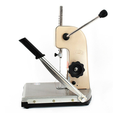 Binding Machine Hole Puncher Manual All Steel With Knife Finance Account Book file Certificate