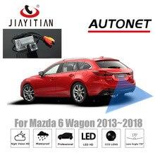 JiaYiTian Car camera For Mazda 6 Wagon 2013 2014 2015 2016 2017 2018 CCD Night Vision Reverse  backup Parking camera