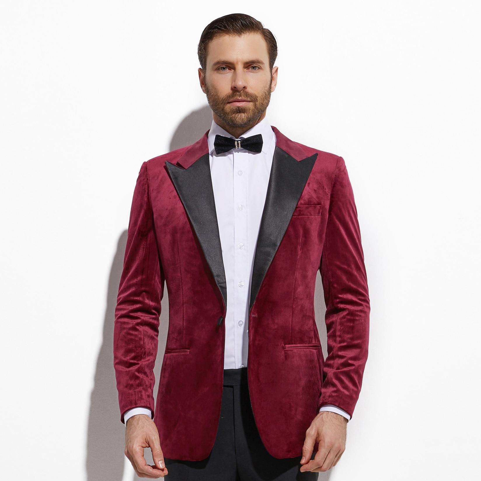 story sharp I'm sorry  2020 Burgundy Velvet Diner Jacket Custom Made Slim Fit Dark Red Velvet  Blazer Men, Tailored Velvet Blazers For Men Suit Jackets  - AliExpress