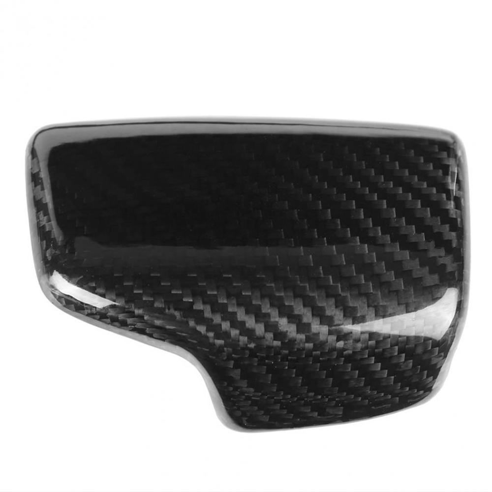 Image 4 - Real Carbon Fiber For AUDI A4 S4 RS4 B9 A5 S5 RS5 Q5 Q7 2016 2017 2018 2019 AT Car Styling Gear Shift Knob Head Cover Trim LHD-in Car Stickers from Automobiles & Motorcycles
