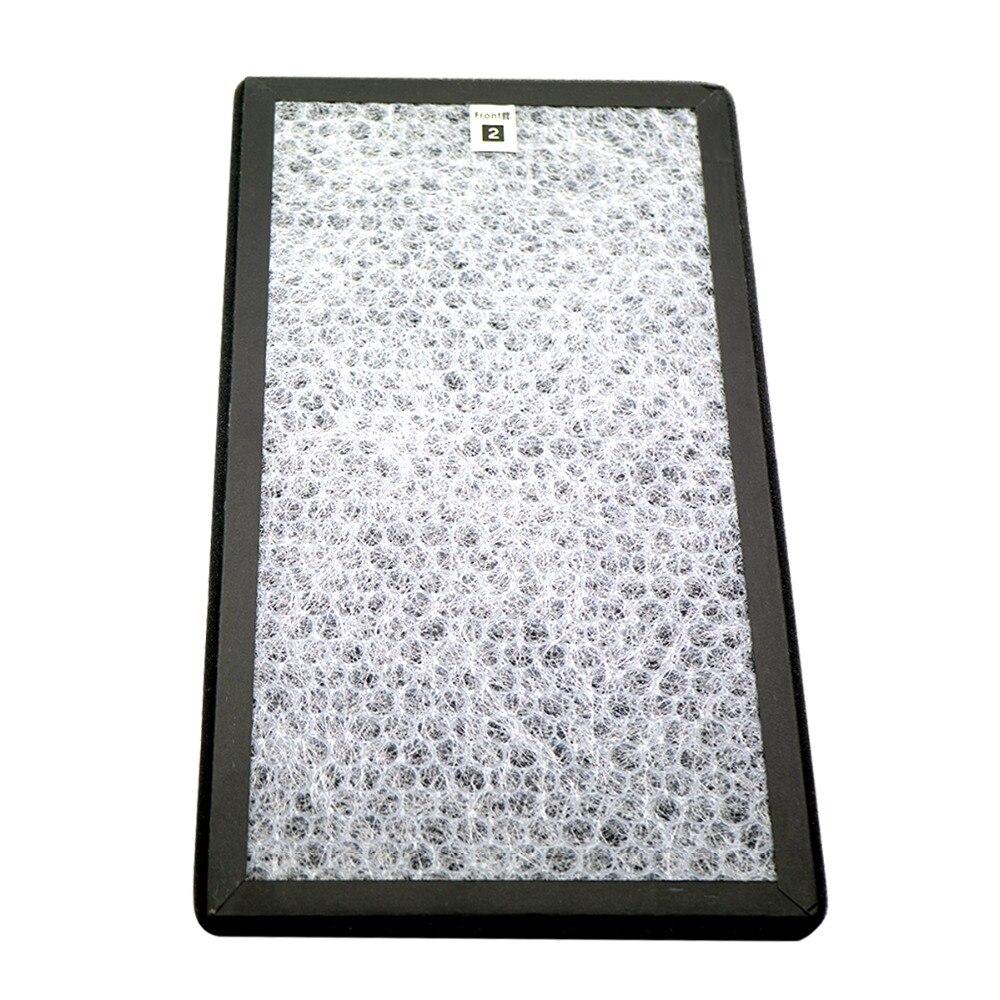 Image 5 - Filtro heap para o purificador de ar afiado KC D50 W, KC E50, KC F50, KC D40E heap filtro 40*22*2.8 cm/carvão ativado filtro 40*22*0.8cmPeças de purificador de ar   -
