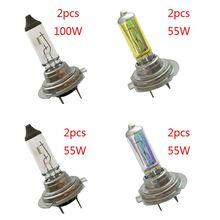 Halogen Headlight Xenon-Gas 55W/100W 12V 2pcs 3500-4500k