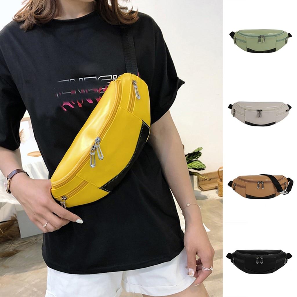 Waistbags For Women Men Pockets Outdoor Sport Leisure Messenger Waist Packs Bag Luxury Women Bags Designer Solid 5 Color Gift