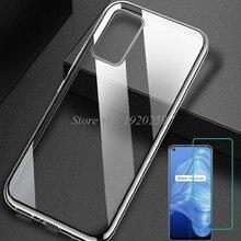 Für OPPO Realme 7 5G RMX2111 Fall Silikon Abdeckung TPU Telefon Zurück Protector Klar Shell Realme 7 Glas Funda capa Stoßstange Etui