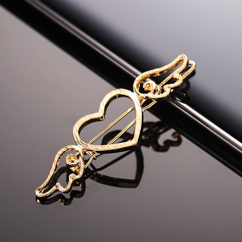 Pin Angel Love Fashion Simple Alloy Hair Clips Women Ornament Hairpins Bangs Clip Headband Beauty Styling Hair Accessories Islamabad