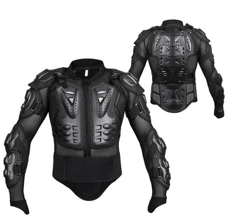 מלא גוף מעיל שריון אופנוע מוטוקרוס שריון אופנוע ציוד חזה מגן כתף יד משותף הגנת חורף S-XXXL