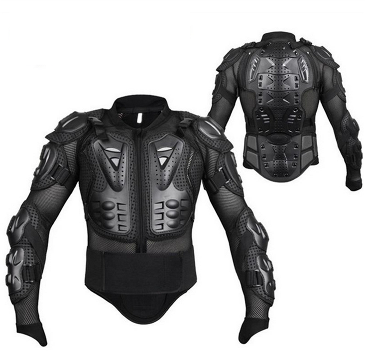 Motorcycle Armor Jacket Full  Racing  men s cycling jersey Spine Chest Back Shoulder Protector Gear Motorcycle Accessories