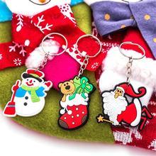 Рождественская елка орнамент подвесные подвески подарки Снеговик Рождество Decora adornos de navidad брелок подарки Рождественские поставки