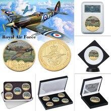 WR Royal Air Force-monedas metálicas de oro de aniversario, moneda de réplica Original coleccionable, copia de Euro, regalos de cumpleaños, recuerdo