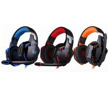 Over-Ear Game Gaming Pro Headphone Headset Earphone Headband For G2000 With Stereo Bass Noise Cancelling kotion each g1200 gaming headset 3 5mm game headphone headband gaming headphone with mic stereo bass for pc laptop mobile phones