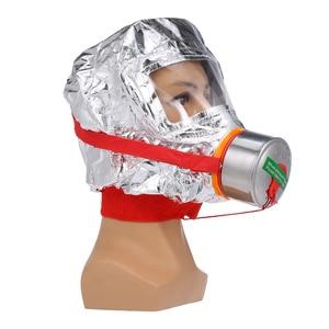 Image 1 - Fire Eacape Gezichtsmasker Zelfreddingstoestellen Respirator Gas Masker Rook Beschermende Gezicht Cover Persoonlijke Vluchtweg Kap