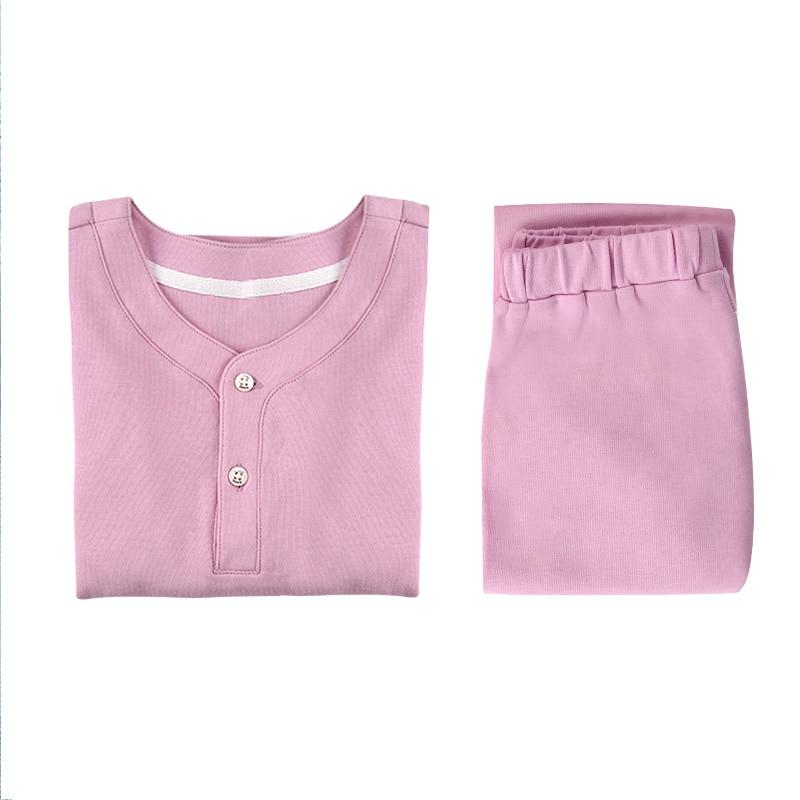 Enfant climatisation vêtements pyjama ensemble bébé pyjama pur coton mince manches longues pyjamas