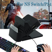 20% Adapter wireless Controller TYPE-C Dock HDMI Base Charger Keyboard Mouse Converter for NS Swich/PS4 Switch Accessories(China)