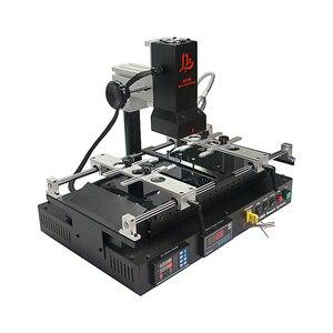 Image 4 - LY IR8500 V2 BGA Rework Station with PCB brackets solder balls stencils welding flux upgrade from IR6000 IR6500 mobile repair