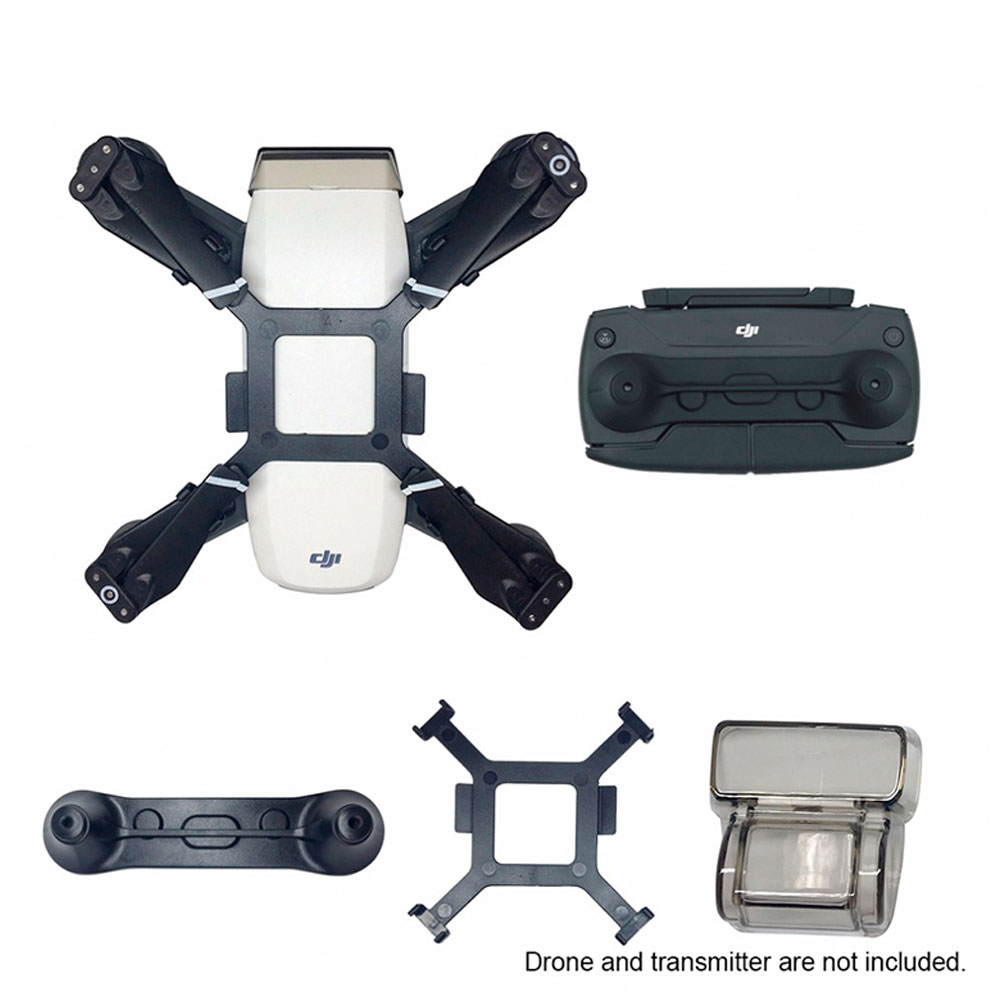 For Dji Spark Parts Gimbal Holder Lens Cover Propeller Fixer Protective Bracket Joystick Protector Camera Drone Accessories Kits