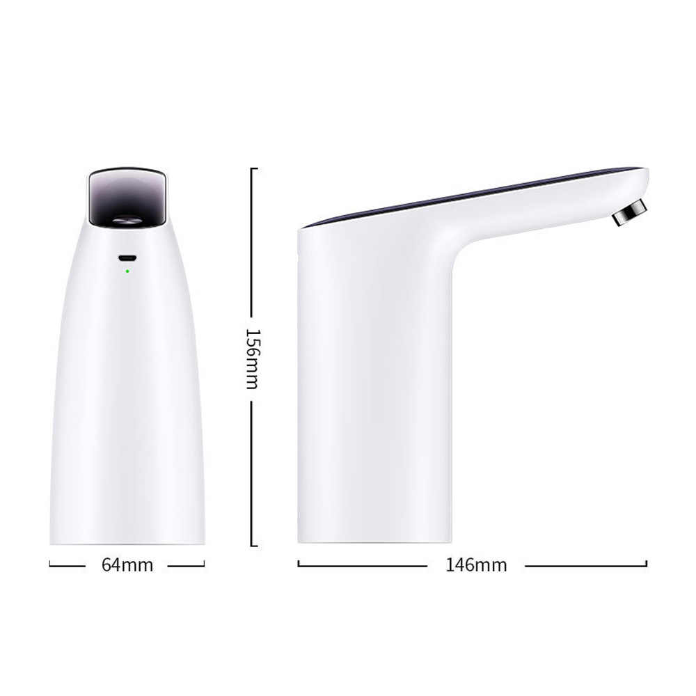 Dispenser Air USB Pompa Air Mini Touch Tipe Nirkabel Rechargeable Electric Dispenser Plastik ABS Shell Pompa Air Minum