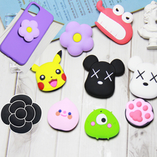 3D mobile phone bracket Cute Cartoon airbag Phone Expanding Stand Fing