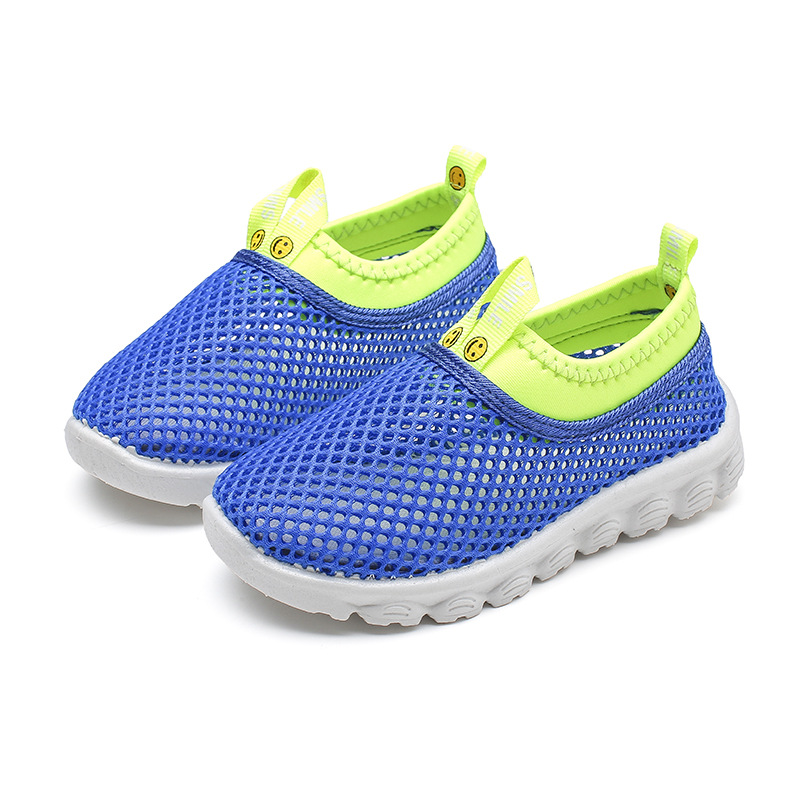Boys Shoes Girls Sneakers Kids Casual Shoes Toddlers Boy Girl Big Children Sport Shoes Air Mesh Net Breathable Candy Color 21-38