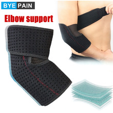 Adjustable Sports Elbow Brace Muscle Compression Elastic Golfers Elbow Arm Support Sleeves Arthritis Pain Relief Running Tennis