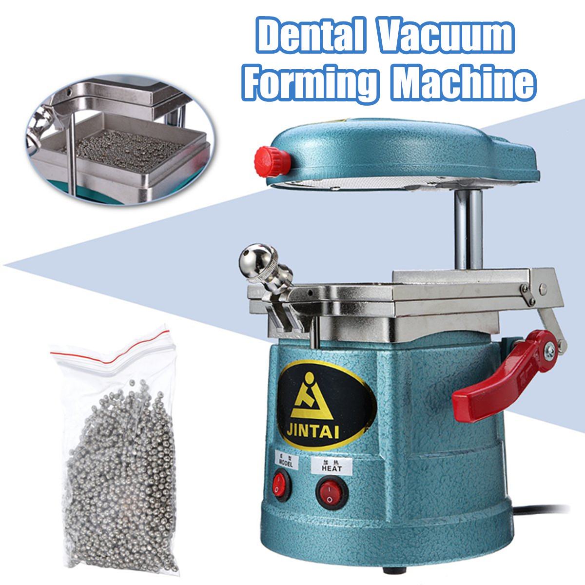220V Dental Vacuum Former Forming Molding Machine Industrial Laminating Machine Dental Equipment Vacuum Forming Machine Tools