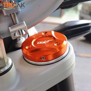 Image 2 - For KTM DUKE 125 200 250 390 690 990 1090 1190 1290 2013 2019 Motorcycle CNC Aluminum Front Fork Suspension Top Cover Cap