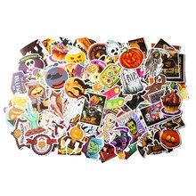 100 pçs não-repetindo padrão de halloween adesivos decorativos engraçados scrapbooking diy artesanato álbuns de fotos