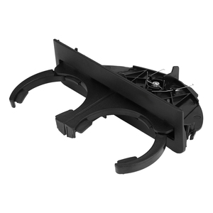 Image 3 - Car Rear Cup Holder Bracket Dual Hole Plastic Center Console Cup Holder Replacement Auto Accessories For BMW E39 1997 2003
