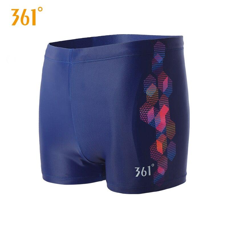 361 Mens Swimwear Mens Swim Tight Trunks Elastic Competition Swim Shorts Plus Size Boxer Trunks Summer Beach Pool Pants Swimsuit