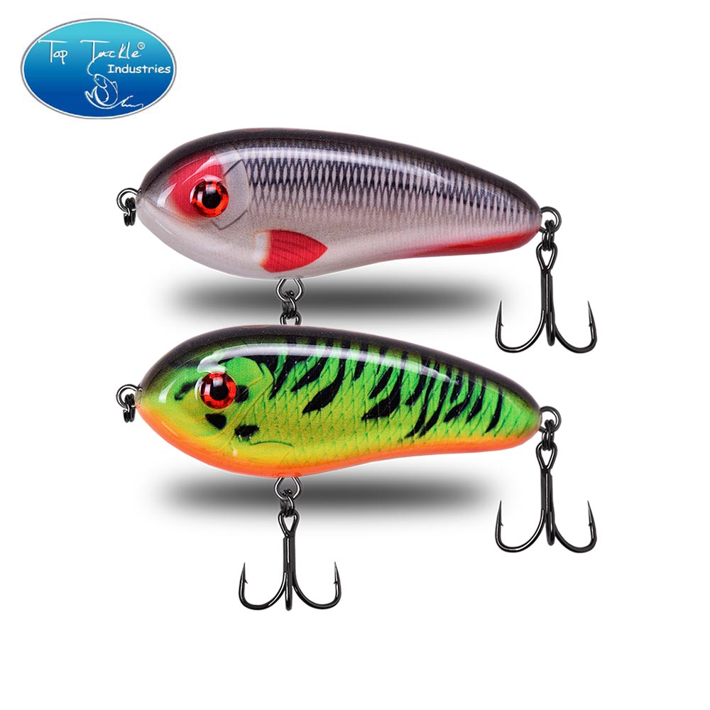 CFLure LITTLE DARLING Freshwater 78mm 25g Slow Sinking Artificial Hard Bait Jerk Bait Pike Bass Fishing Lure Tackle
