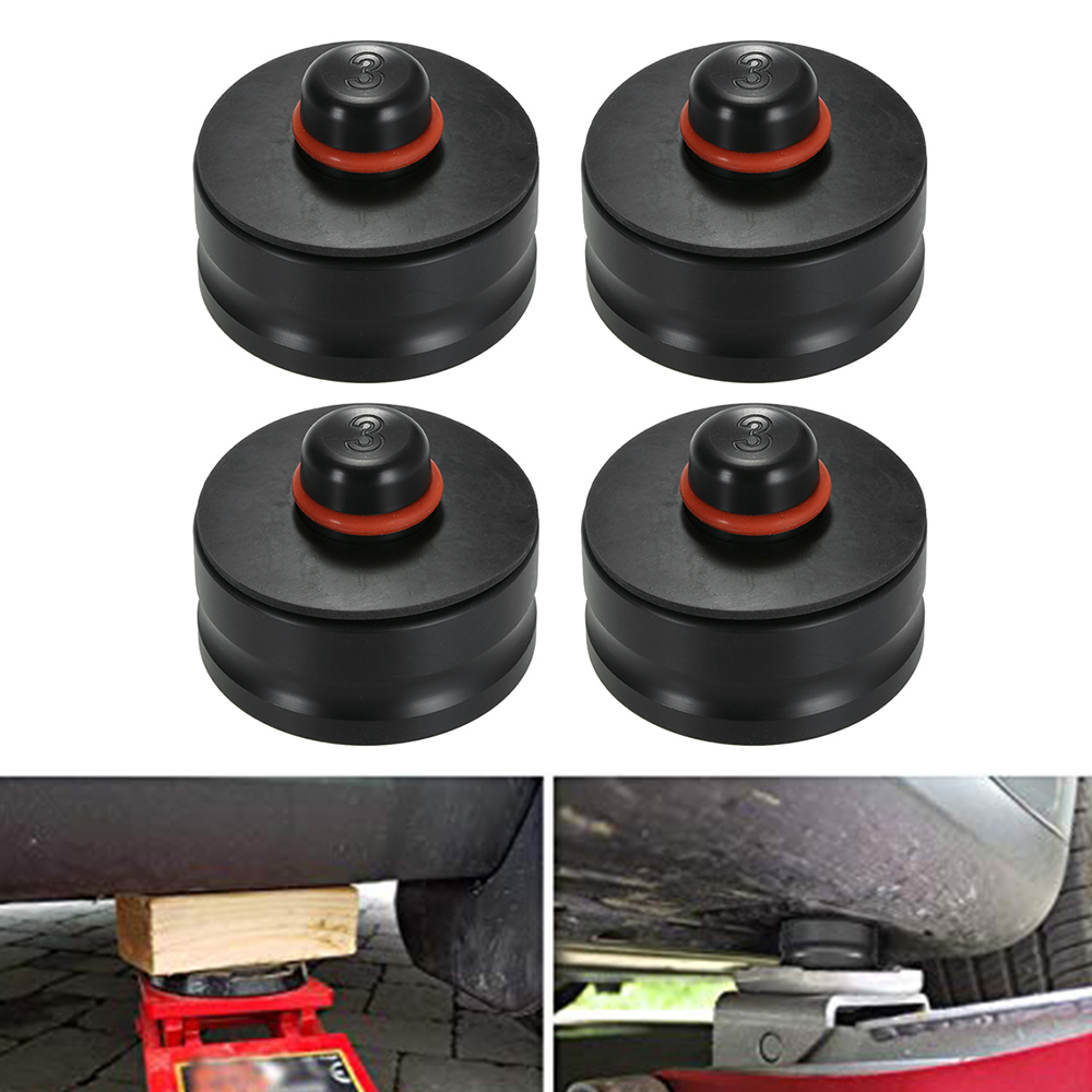 1pcs / 4pcs  Car Styling Tool Jack Lift Point Pad Adapter Jack Pad Tool Chassis Dedicated For Tesla Model 3