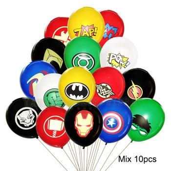 55 x 63CM 3D Spiderman Iron Man Hero Aluminum Foil Balloons Birthday Party Decoration Baby Shower Supplies Globos 21