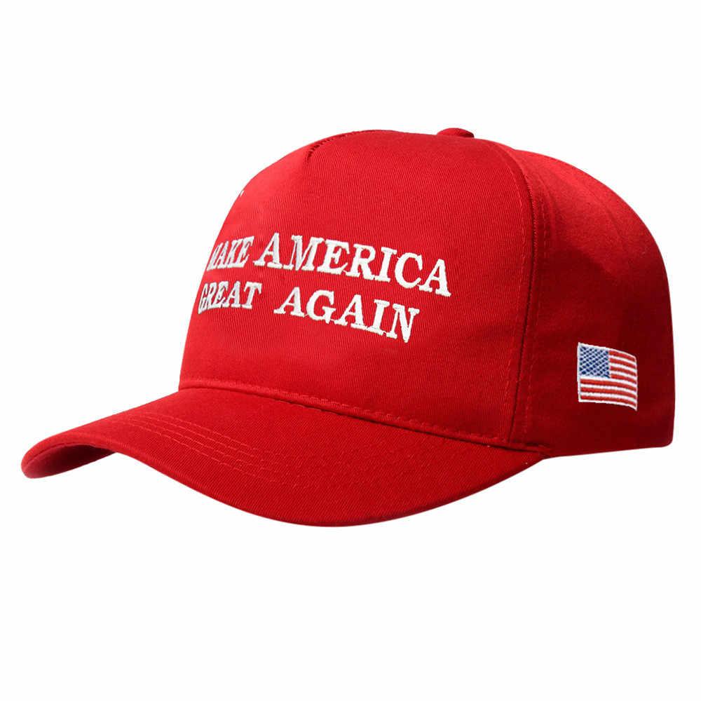 Làm Cho Mỹ Đại Một Lần Nữa In Chữ Nón Lưỡi Trai Donald Trump Bài Diễn Văn Khẩu Hiệu Đảng Cộng Hòa Mũ Cotton Polyester Mới Chất Lượng Cao KS
