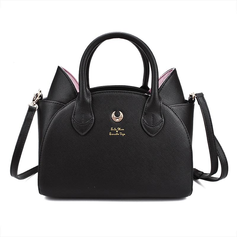 New Sailor Moon Samantha Vega Bowknot Bag Wallet Purse Women Handbag X-mas Gifts
