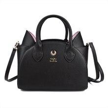 Msmo セーラームーンバッグサマンサベガルナ女性ハンドバッグ 20th 記念猫耳ショルダーバッグハンドバッグsailor moon baghand bagshoulder bags