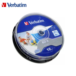 Original Verbatim 6X Blu-ray BD-R 25GB Blank Disc Recordable Media Unprintable Lots Blue Ray Disk Compact Storage blu ray player