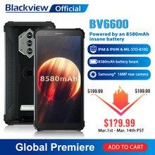 Blackview BV6600 IP68 étanche 8580mAh robuste Smartphone Octa Core 4GB + 64GB 5.7