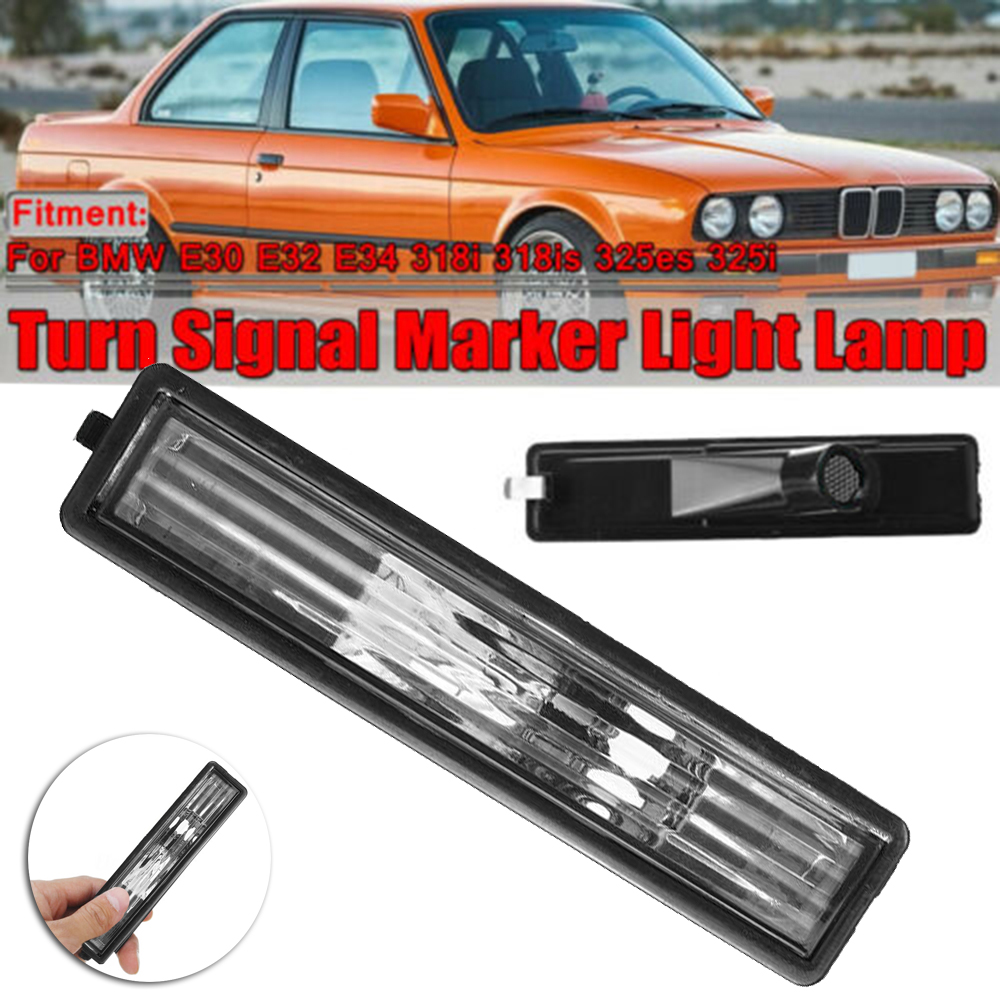 2020 For <font><b>BMW</b></font> <font><b>E30</b></font> E32 E34 <font><b>318i</b></font> 318is 325i Car Fender Side Marker Turn Signal Light Brand New And High Quality image
