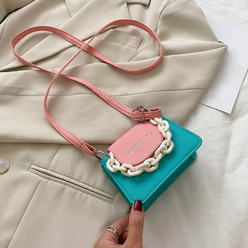2020 New Chain Small Crossbody Bags For Women Hit Color Shoulder Messenger Bag Femme Lady Luxury Han