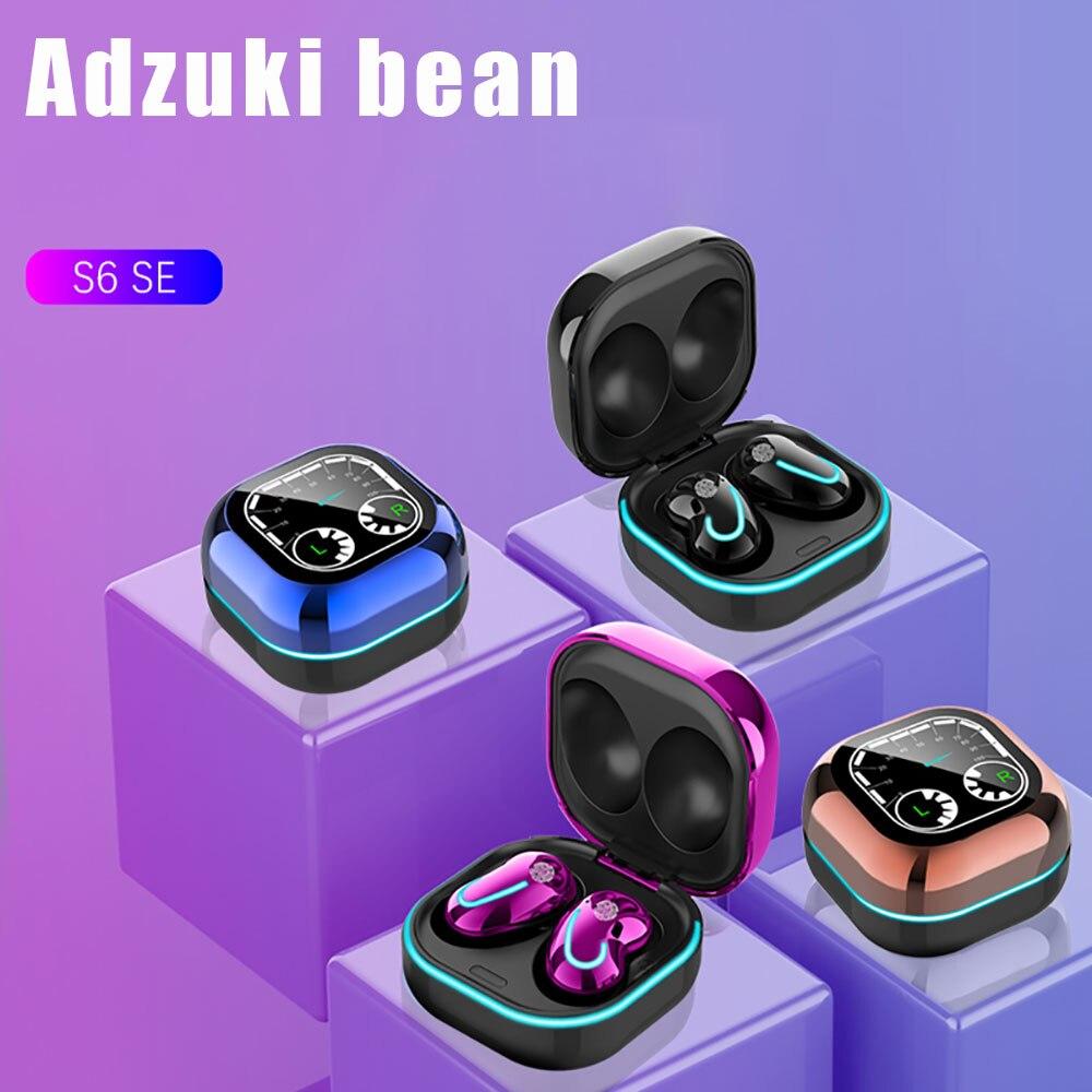 Беспроводные наушники S6SE с Bluetooth 5,1, игровая гарнитура, Hi Fi спортивные наушники с шумоподавлением для Samsung, Xiaomi, Iphone, Huawei Наушники и гарнитуры      АлиЭкспресс