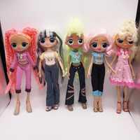 Lol surprise-Muñeca de juguete para niña, juguete de muñeca de pelo largo de 2 Generación, muñeca de juguete para niña, juguetes exquisitos móviles
