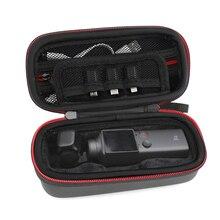 Przenośny futerał Osmo kieszeń z pokrętła sterowania Dial pudełko do przechowywania torba dla dji Osmo kieszonkowy aparat kardana ręczna
