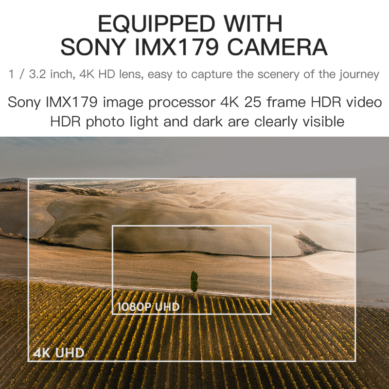 Hot DealsHGIYI SG906 PRO GPS Drone with 2-axis Anti-shake Self-stabilizing Gimbal 4K HD Camera
