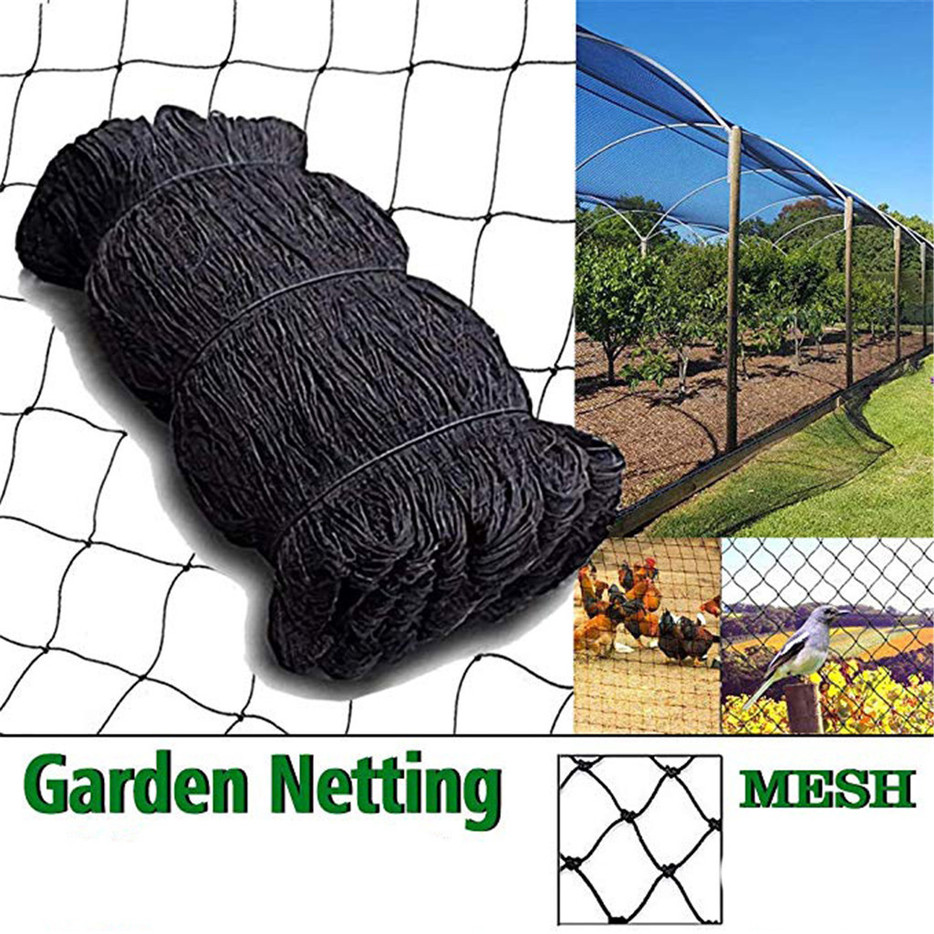 Bird Netting Heavy Duty Garden Net Protect Plants Fruit Trees Protective Net Bird-Preventing Poultry Net Netting Protective  G15