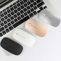 Para Apple Macbook air para Macbook Pro Xiaomi ratón Bluetooth inalámbrico recargable para Huawei Matebook ordenador portátil