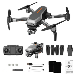 Image 5 - L109 Pro Drone 4K GPS HD kamera kardanowa 5G WIFI FPV bezszczotkowy silnik karta SD 1200m duża odległość drony profesjonalny zdalnie sterowany Quadcopter
