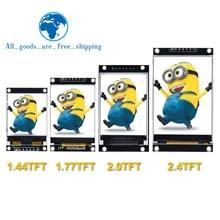 1.44/1.77/2.0/2.4/2.8 Inch TFT Color Screen LCD Display Module Drive ST7735 ILI9225 ILI9341 Interface SPI 128*128 240*320