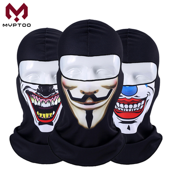 3D Orcs Clown kominiarka Joker V dla Vendetta motocykl Moto Ski Snowboard kapelusz kask Liner Biker osłona twarzy Cap mężczyźni kobiety tanie i dobre opinie mvptoo Oddychające Szybkie suche Wiatroszczelna Motorcycle Motorbike Touring Racing Unisex Men Women Male Female