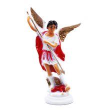 Красный Ангел, пластиковая Священная Статуя, украшения, христианская церковь, украшение для дома