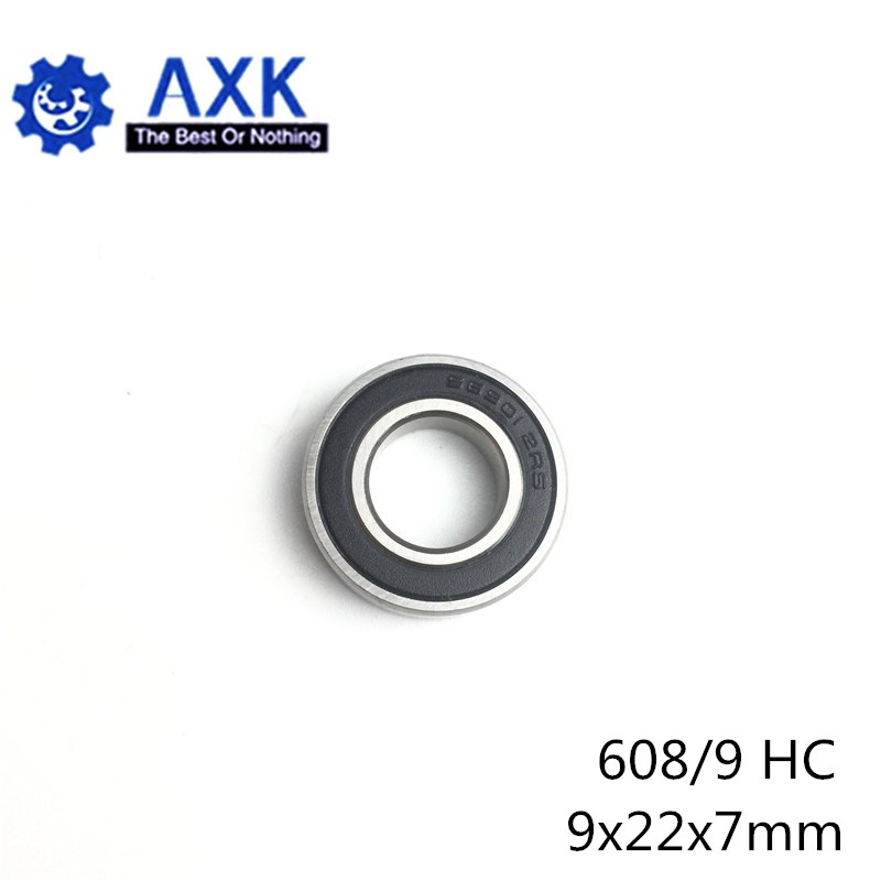 608/9 Hybrid Ceramic Bearing 9x22x7 mm ABEC-1 ( 1 PC) Industry Motor Spindle 608/9HC Hybrids Si3N4 Ball Bearings 3NC 608/9RS image